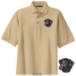 Curly Coated Retriever Polo Shirt - Embroidered