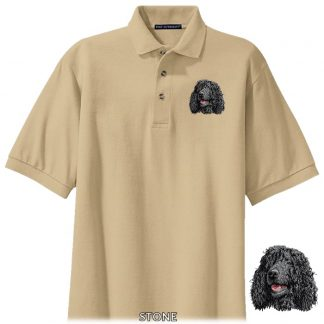 Irish Water Spaniel Polo Shirt - Embroidered