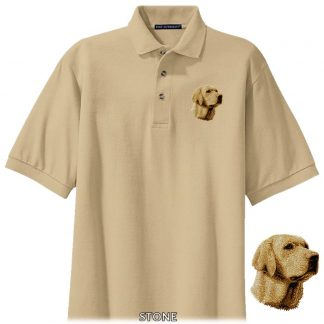 Yellow Lab Polo Shirt - Embroidered