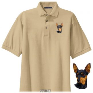Miniature Pinscher Polo Shirt - Embroidered