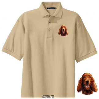 Irish Setter Polo Shirt - Embroidered