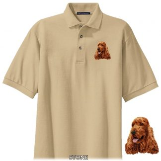 English Cocker Spaniel Polo Shirt - Embroidered