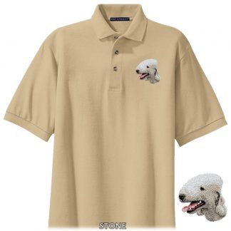 Bedlington Terrier Polo Shirt - Embroidered