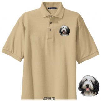 Bearded Collie Polo Shirt - Embroidered