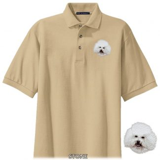 Bichon Frise Polo Shirt - Embroidered