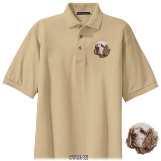Clumber Spaniel Polo Shirt - Embroidered
