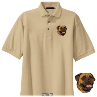 Bullmastiff Polo Shirt - Embroidered