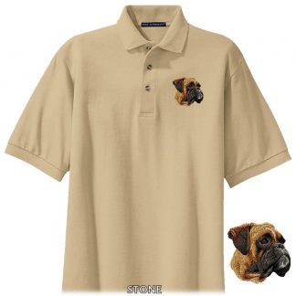 Boxer Polo Shirt - Embroidered (Uncropped)