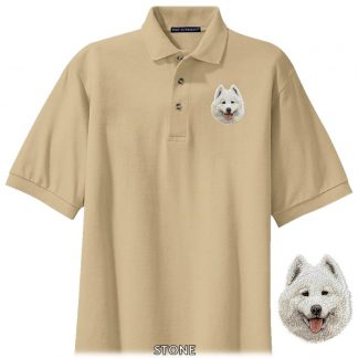 Samoyed Polo Shirt - Embroidered