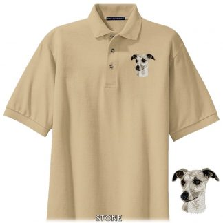 Whippet Polo Shirt - Embroidered