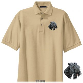 Kerry Blue Terrier Polo Shirt - Embroidered
