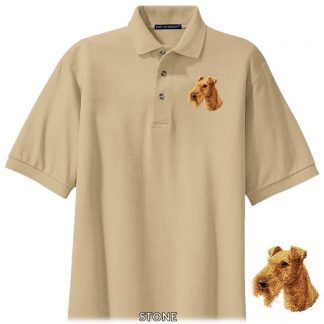 Irish Terrier Polo Shirt - Embroidered