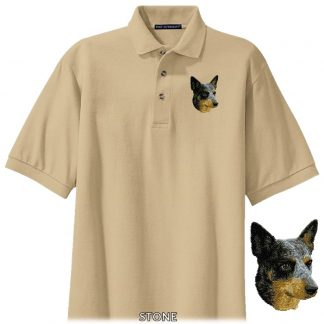 Australian Cattle Dog Polo Shirt - Embroidered