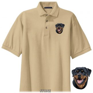 Rottweiler Polo Shirt - Embroidered
