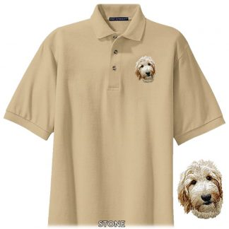 Goldendoodle Polo Shirt - Embroidered
