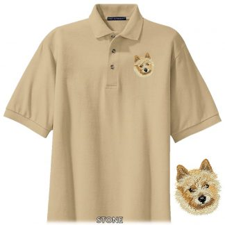 Norwich Terrier Polo Shirt - Embroidered