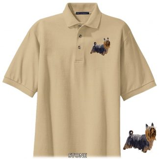 Silky Terrier Polo Shirt - Embroidered
