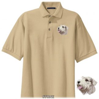 Sealyham Terrier Polo Shirt - Embroidered