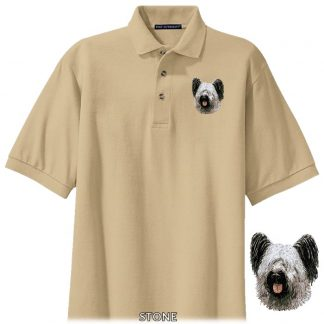 Skye Terrier Polo Shirt - Embroidered