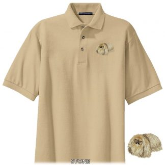 Pekingese Polo Shirt - Embroidered