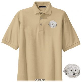 Coton de Tulear Polo Shirt - Embroidered