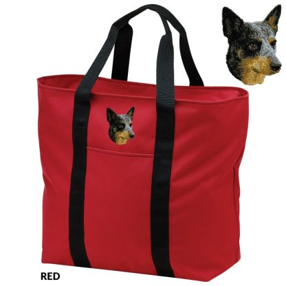 Australian Cattle Dog Tote Bag - Embroidered