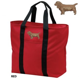 Sussex Spaniel Tote Bag - Embroidered