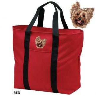 Yorkshire Terrier Tote Bag - Embroidered