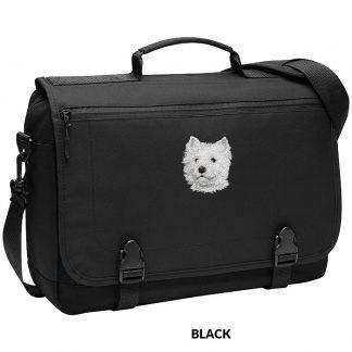 West Highland Terrier Laptop Bag - Embroidered