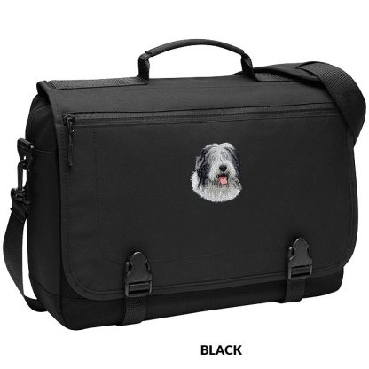 Old English Sheepdog Laptop Bag - Embroidered