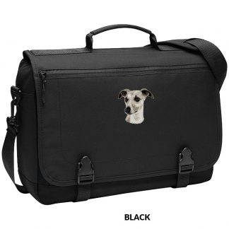 Whippet Laptop Bag - Embroidered