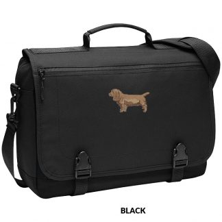 Sussex Spaniel Laptop Bag - Embroidered
