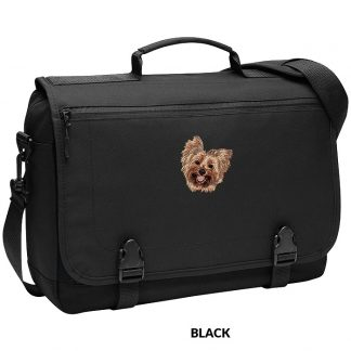 Yorkshire Terrier Laptop Bag - Embroidered