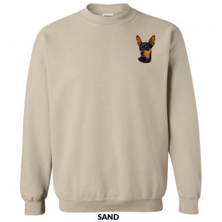 Miniature Pinscher Sweatshirt - Embroidered