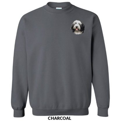 Bearded Collie Sweatshirt - Embroidered
