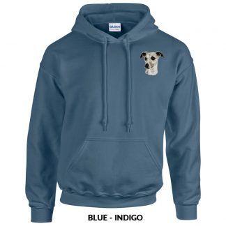 Whippet Hoody Pullover - Embroidered