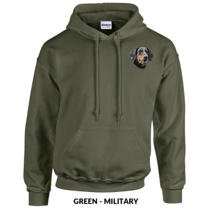Doberman Pinscher Hoody Pullover - Embroidered (Uncropped)