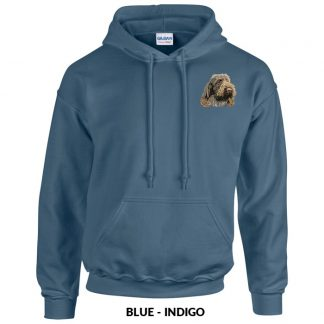 Spinone Italiano Hoody Pullover - Embroidered