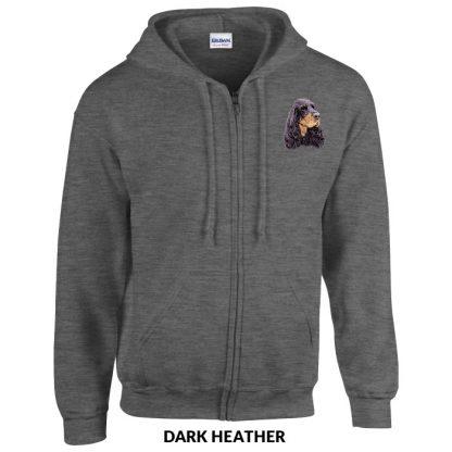 Gordon Setter Hoody Jacket - Embroidered