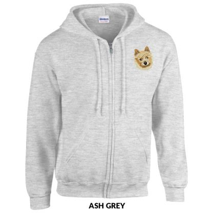 Norwich Terrier Hoody Jacket - Embroidered