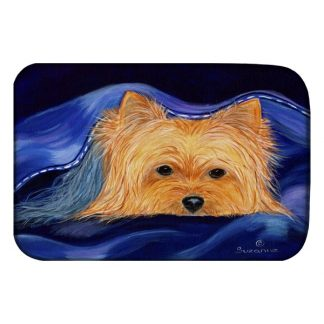 Yorkshire Terrier Dish Drying Mat